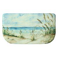 Bacova Coastal Landscape Memory Foam Kitchen Rug - 18