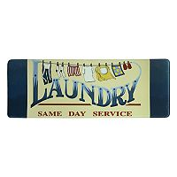 Bacova Same Day Service Laundry Memory Foam Rug Runner - 55