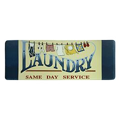 Bacova Same Day Service Laundry Memory Foam Rug Runner - 55' x 20'