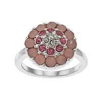 LC Lauren Conrad Pink Flower Ring