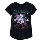 Toddler Girl Jumping Beans® My Little Pony 'Magic' Rarity & Twilight Sparkle Graphic Tee