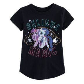 """Toddler Girl Jumping Beans® My Little Pony """"Magic"""" Rarity & Twilight Sparkle Graphic Tee"""