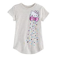 Toddler Girl Jumping Beans® Hello Kitty® Shiny Bow Graphic Tee