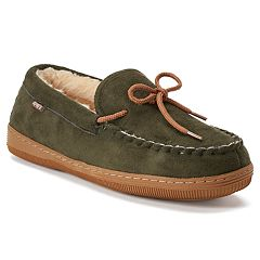 LAMO Men's Fleece Moccasins