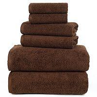 Portsmouth Home Zero Twist 6-piece Bath Towel Set