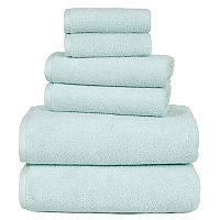 Portsmouth Home Zero Twist 6 pc Bath Towel Set