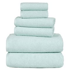 Portsmouth Home Zero Twist 6-piece Bath Towel Set