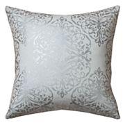 Rizzy Home Metallic Damask Throw Pillow