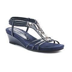 Croft & Barrow® Manor Women's Wedge Sandals