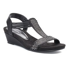 Croft & Barrow® Midori Women's Wedge Sandals