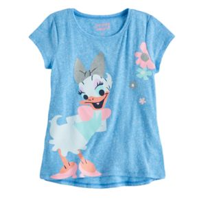 Disney's Daisy Duck Girls 4-10 Glitter Graphic Tee by Jumping Beans®