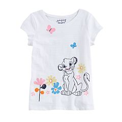 Disney's The Lion King Girls 4-10 Glitter Graphic Tee by Jumping Beans®