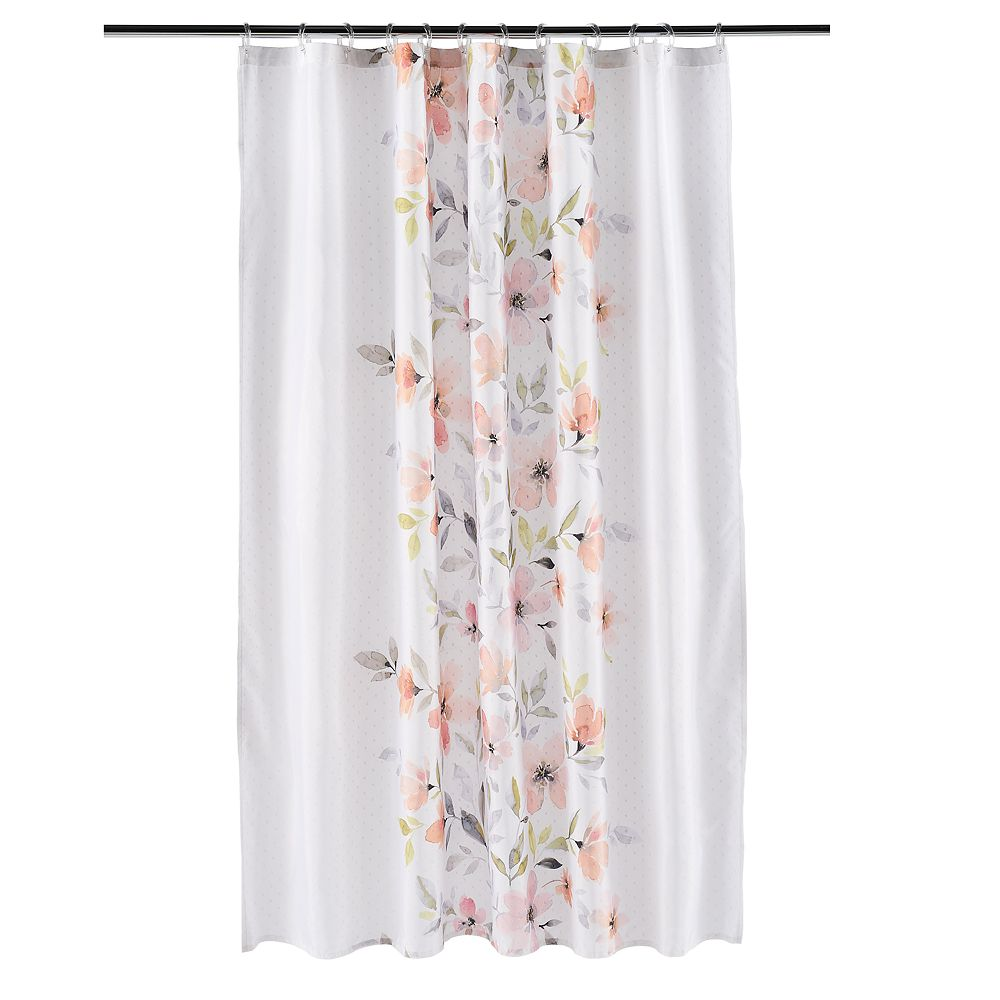 Saturday Knight, Ltd. Resting Garden Fabric Shower Curtain