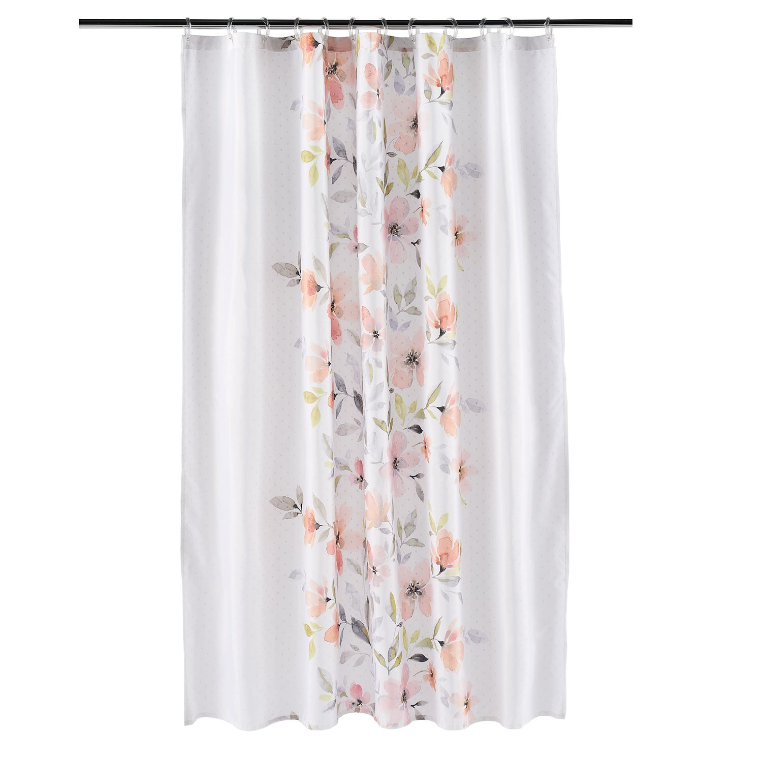 Saturday Knight, Ltd. Resting Garden Fabric Shower Curtain