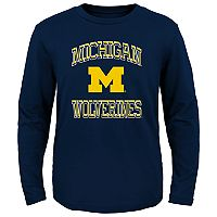 Boys 4-7 Michigan Wolverines Gridiron Hero Tee