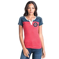 Women's Washington Nationals Colorblock Tee
