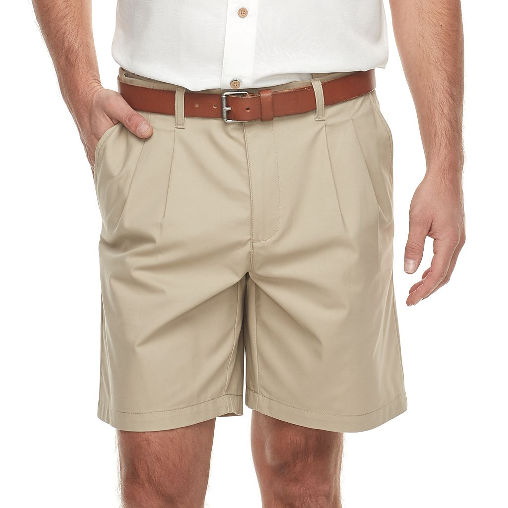 Men's Croft & Barrow® Classic-Fit Easy-Care Flex-Waist Stretch Pleated Shorts
