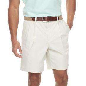 Men's Croft & Barrow® Classic-Fit Easy-Care Flex-Waist Stretch Pleated Shorts