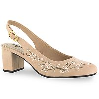 Easy Street Dainty Women's Slingback High Heels