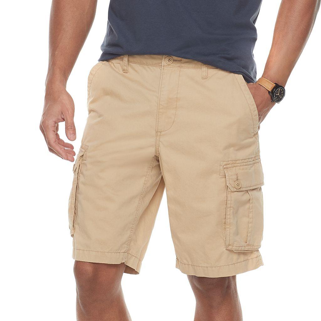 Men's SONOMA Goods for Life™ Modern-Fit Lightweight Twill Cargo Shorts