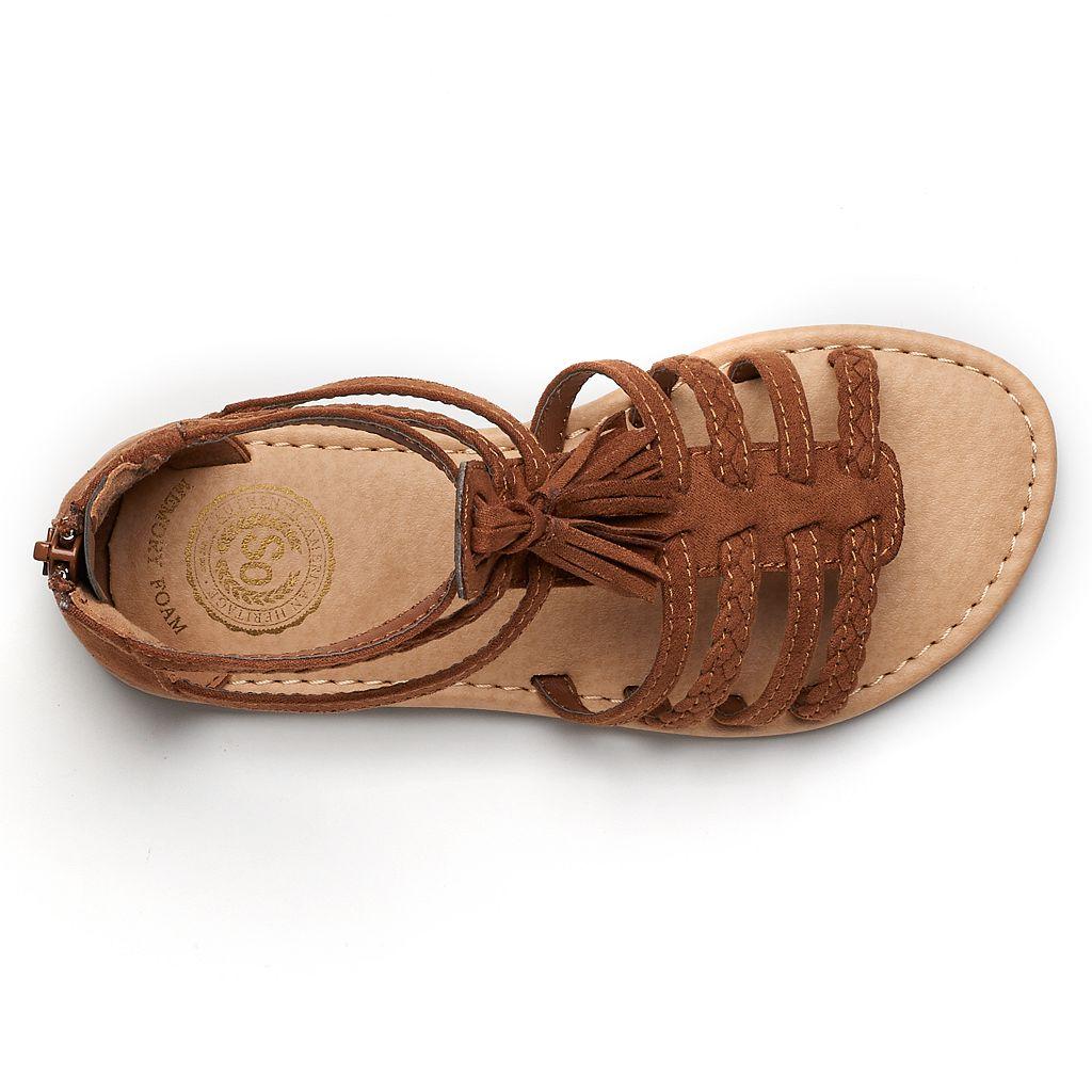SO® Spectator Girls' Gladiator Sandals