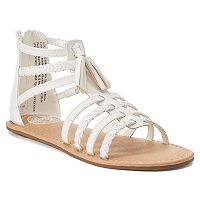 SO® Spectator Girls' Gladiator Sandals