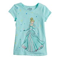 Disney's Cinderella Girls 4-10 Dot Tee by Jumping Beans®