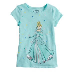 Disney's Cinderella Girls 4-10 Dot Tee by Jumping Beans®