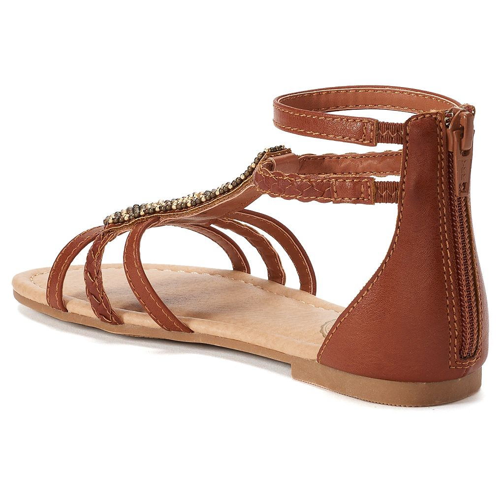 SO® Ticket Girls' Gladiator Sandals