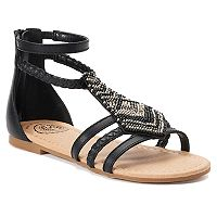 SO® Ticket Girls' Gladiator Sandals