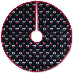 Pegasus Home Chicago Bulls 52' Christmas Tree Skirt
