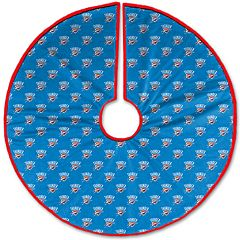 Pegasus Home Oklahoma City Thunder 52' Christmas Tree Skirt