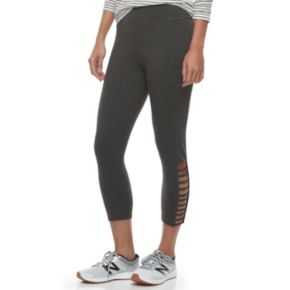Women's French Laundry Strappy Crop Leggings