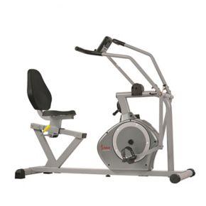 Sunny Health & Fitness Cross-Training Recumbent Bike