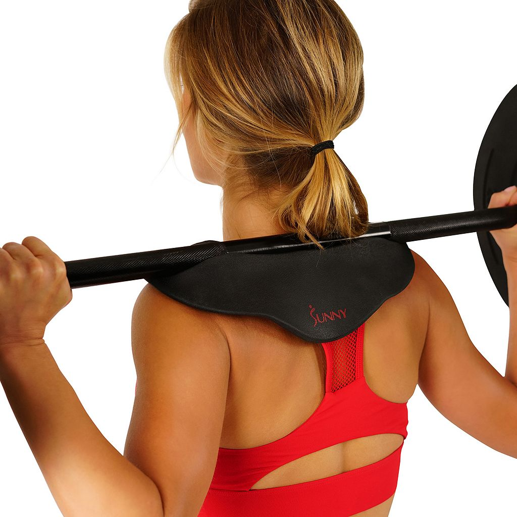 Sunny Health & Fitness Cobra Neck & Shoulder Support Barbell Pad