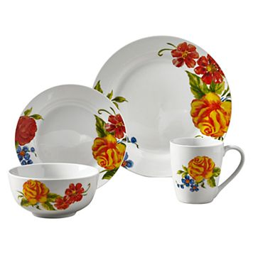 Tabletops Gallery Grace 16-pc. Dinnerware Set
