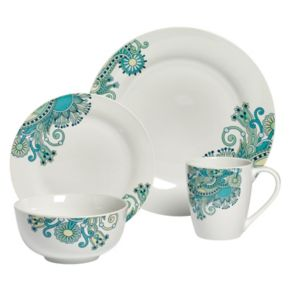 Tabletops Gallery Tansy 16-pc. Dinnerware Set