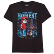 "Disney / Pixar Coco Boys 8-20 ""Seize Your Moment"" Graphic Tee"