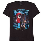 Disney / Pixar Coco Boys 8-20 'Seize Your Moment' Graphic Tee