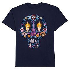 Disney/Pixar Coco Boys 8-20 Candy Skull Tee
