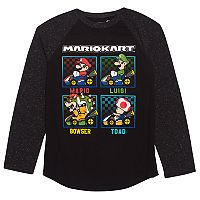 Boys 8-20 Mario Kart Graphic Tee