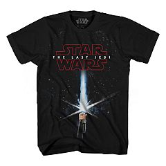 Boys 8-20 Star Wars: Episode VIII The Last Jedi Saber Rey Graphic Tee
