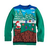 Boys 8-20 33 Degrees Christmas Sweater