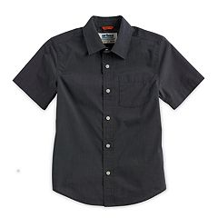 Boys 8-20 Urban Pipeline® Max Wear Textured Button-Down Shirt
