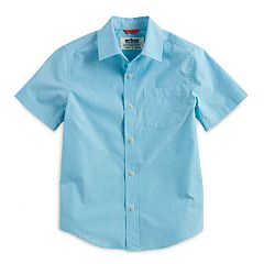 Boys 8-20 & Husky Urban Pipeline® Max Wear Textured Button-Down Shirt