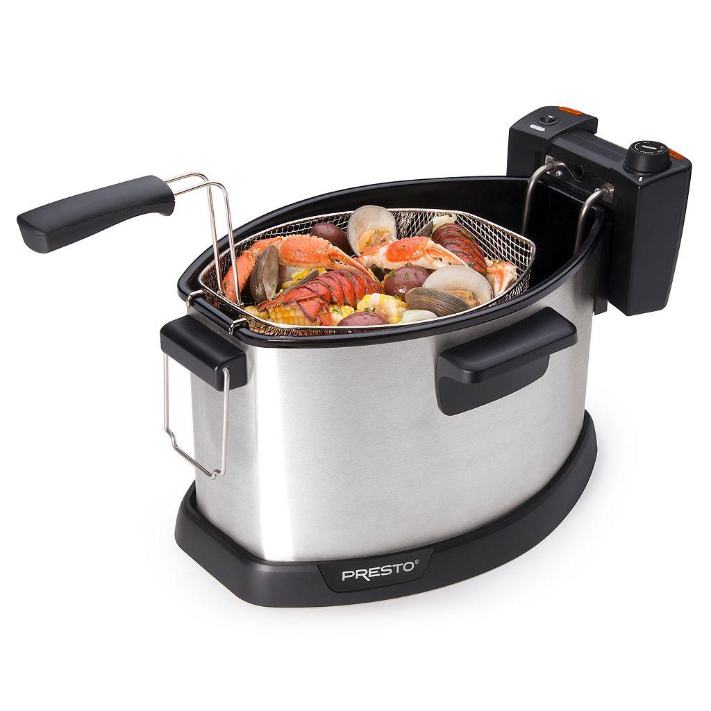 Presto ProFry 15-lb. Electric Turkey Fryer