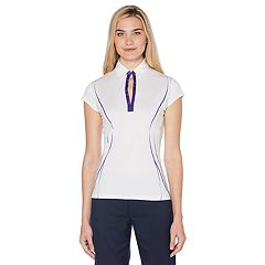 Women's Grand Slam Cap Sleeve Golf Polo