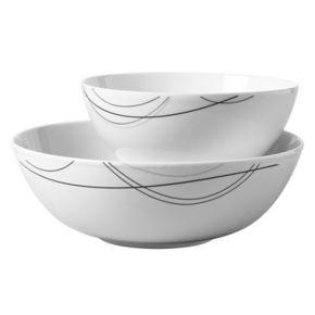 Tabletops Gallery Alec 2-pc. Serving Bowl Set