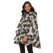 Style Collective Printed Rain Poncho