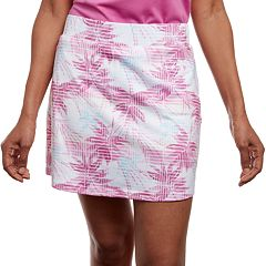 Women's Pebble Beach Palm Tree Print Golf Skort